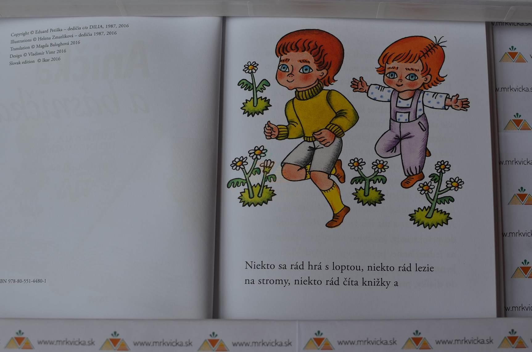 Anička a básnička