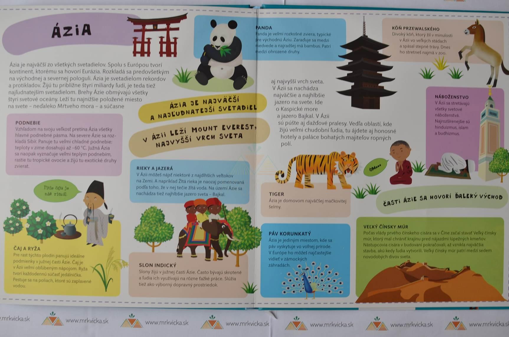 Atlas sveta pre deti