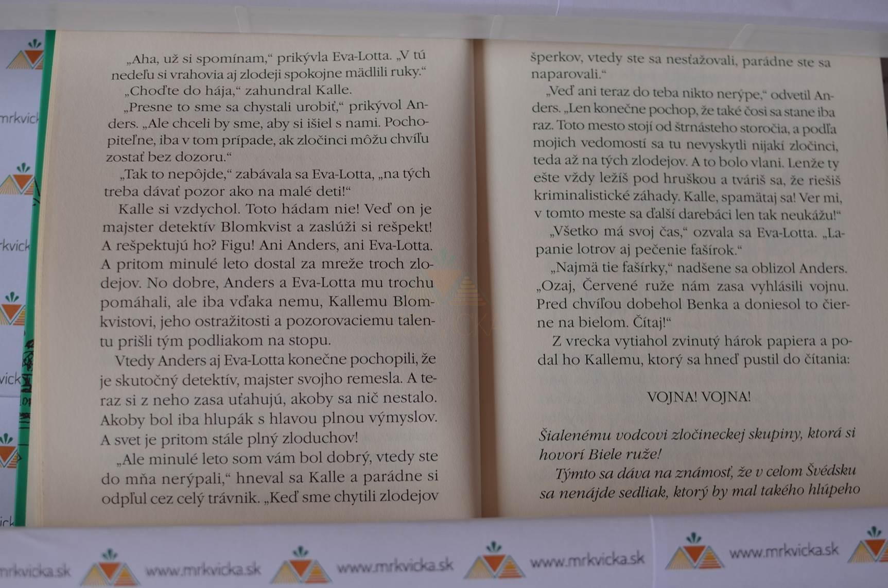 Detektív Kalle Blomkvist: Nebezpečný život detektíva Blomkvista