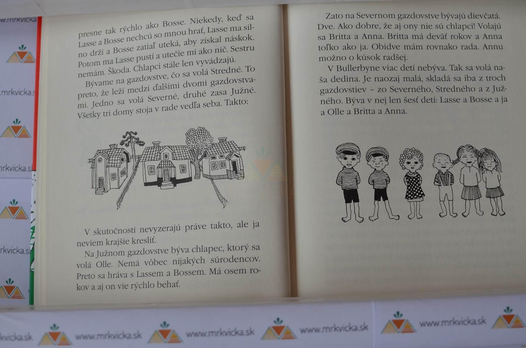 Deti z Bullerbynu – Úplne všetky príbehy (3 knihy v jednej)