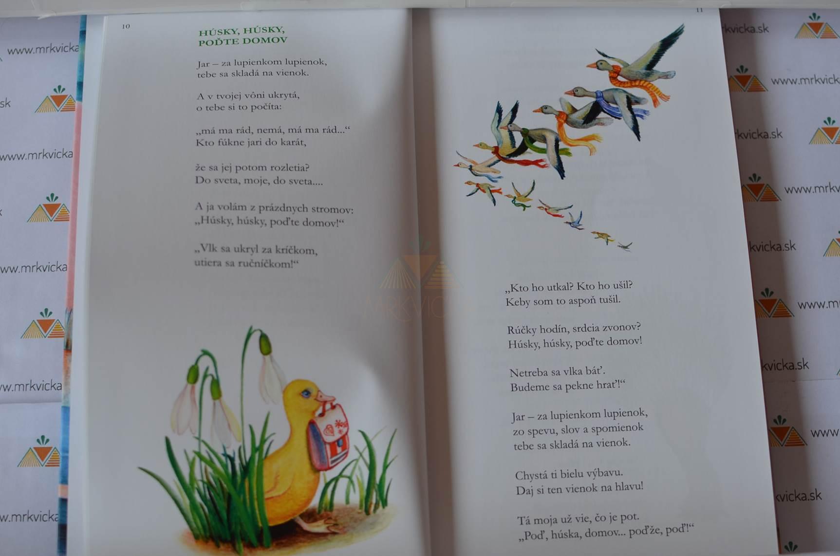Deťom (prebásnená Kniha Rozprávok a Lupienky z Jabloní)