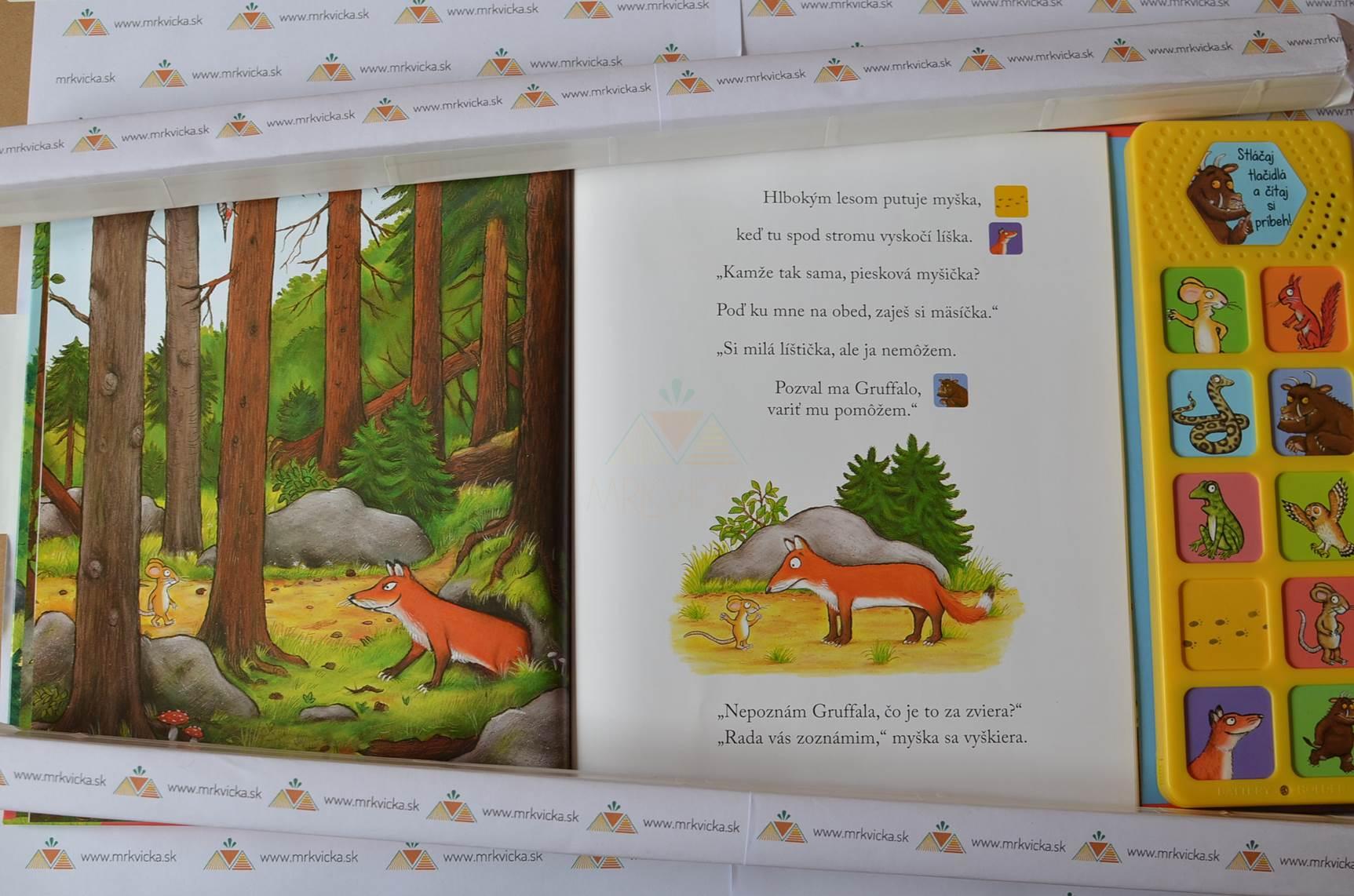 Gruffalo - kniha so zvukmi (rovnaká ako Gruffalo + zvuky)