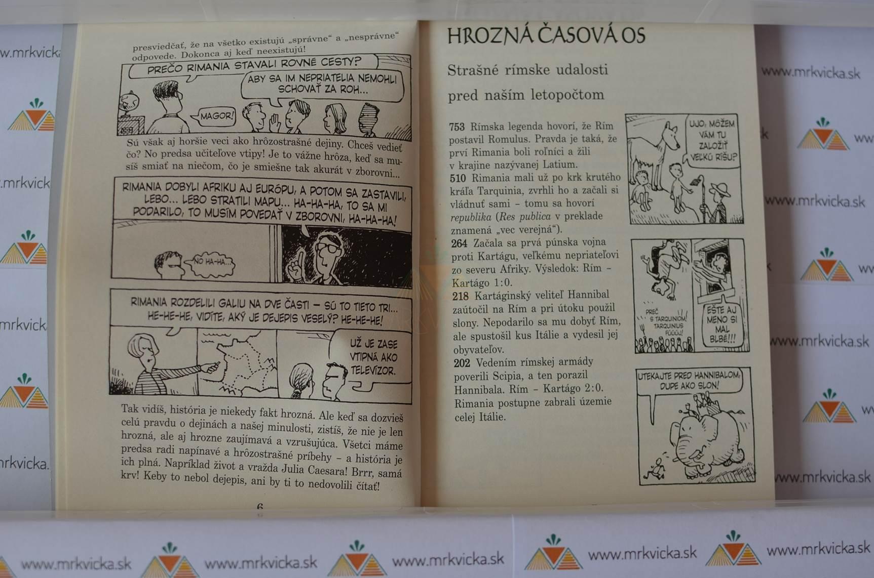Hrôzostrašná história: Strašní Rimania