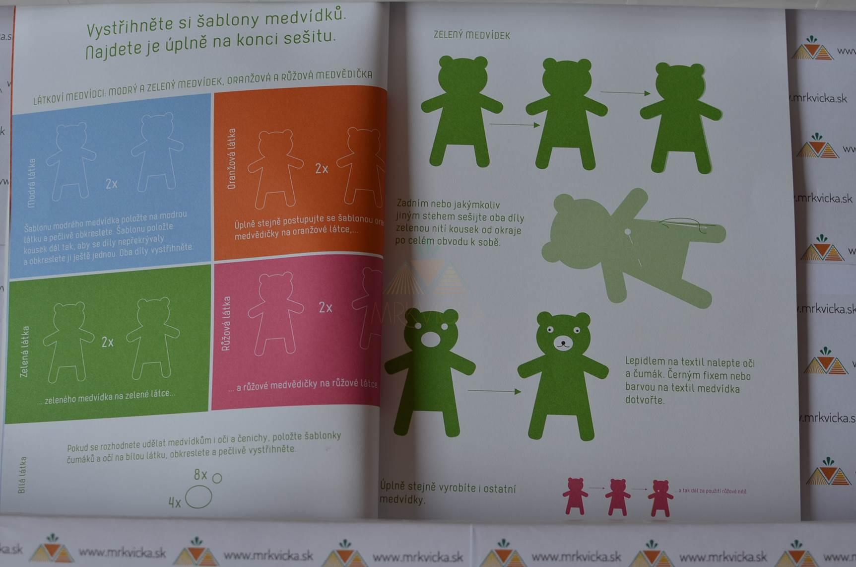 Jak si žijí medvídci: Barvy