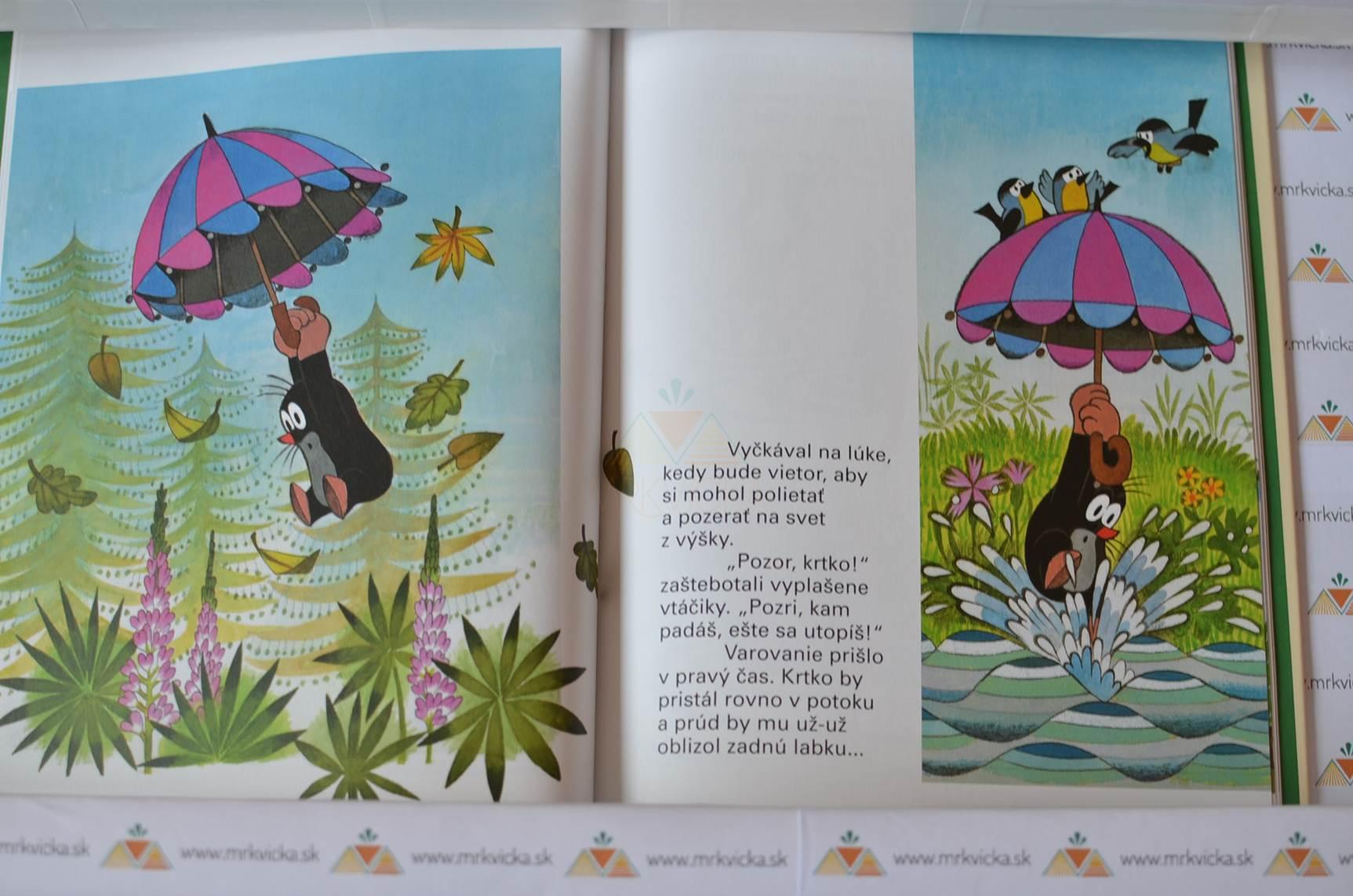 Krtko a dáždnik