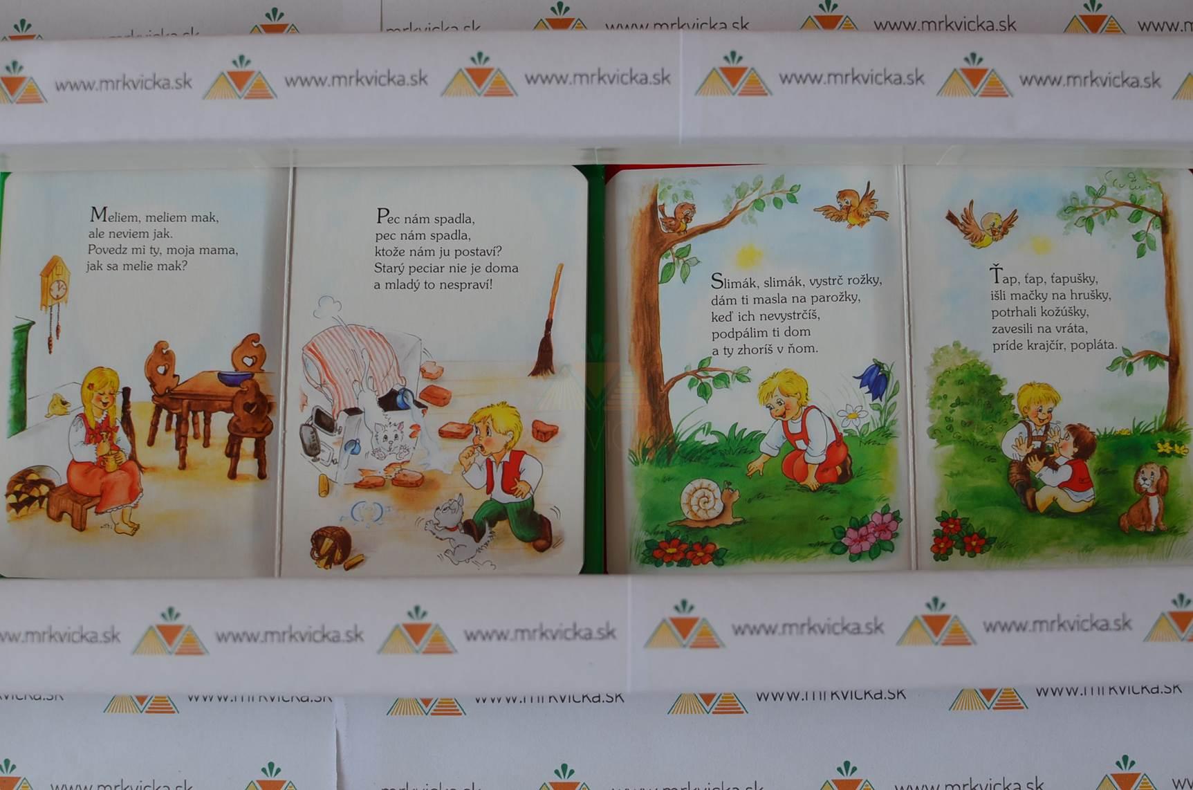 Kufrík riekaniek = 4 malé knižky