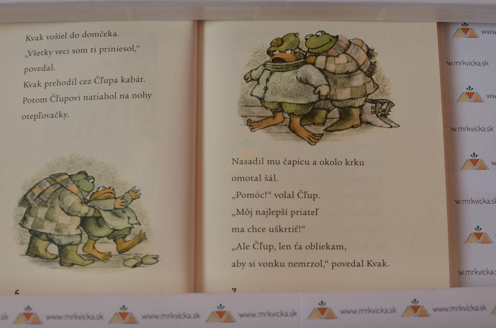 Kvak a Čľup: Veselý rok s Kvakom a Čľupom