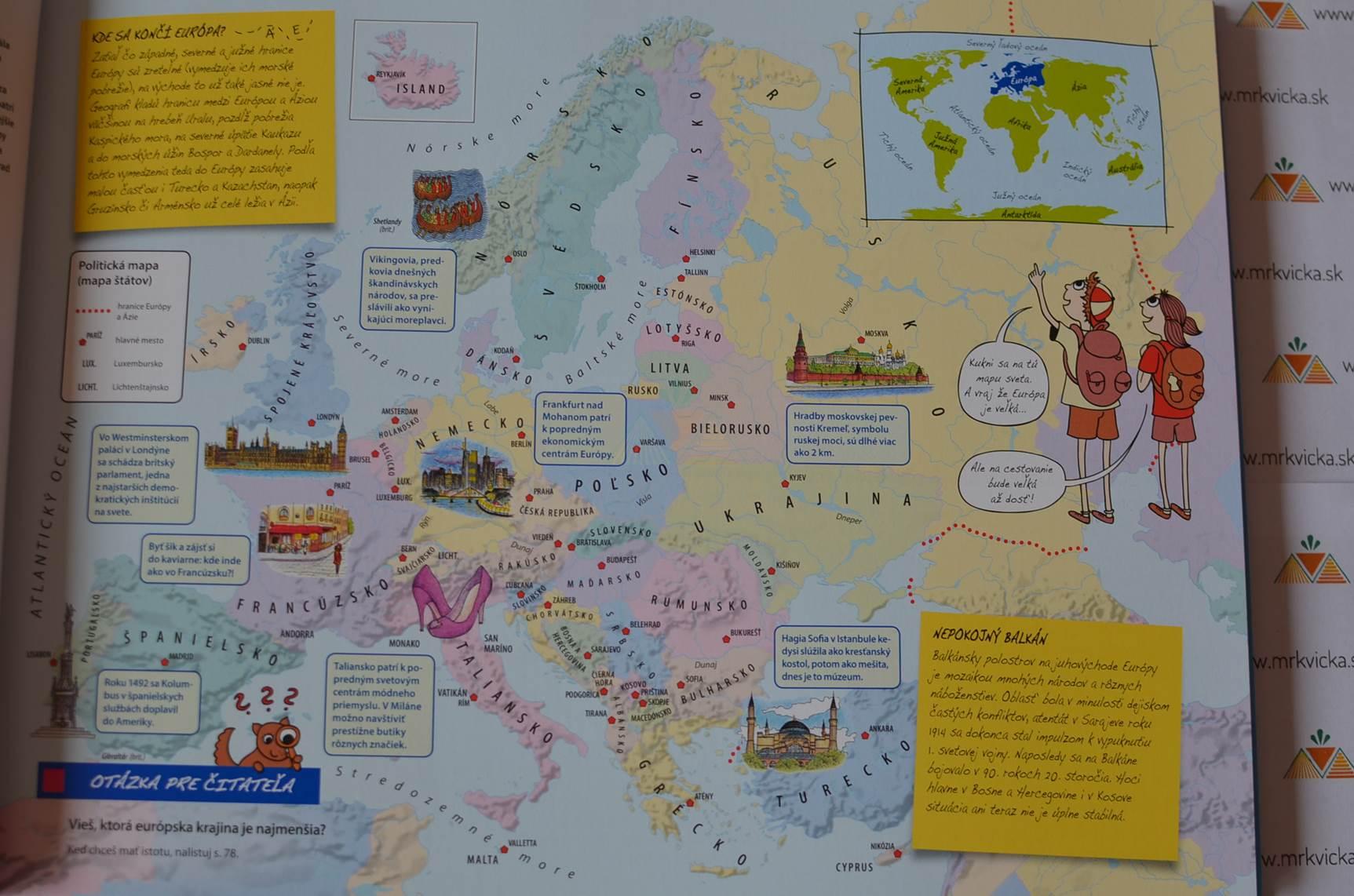 Môj prvý atlas Európy