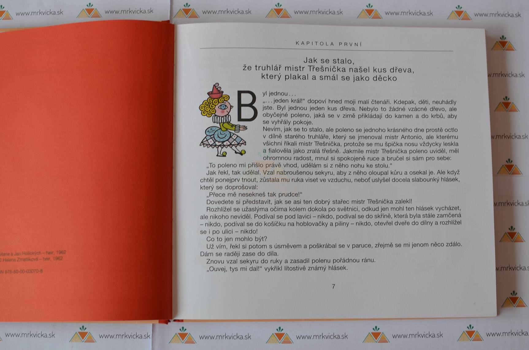 Pinocchiova dobrodružství - ilustrovaná