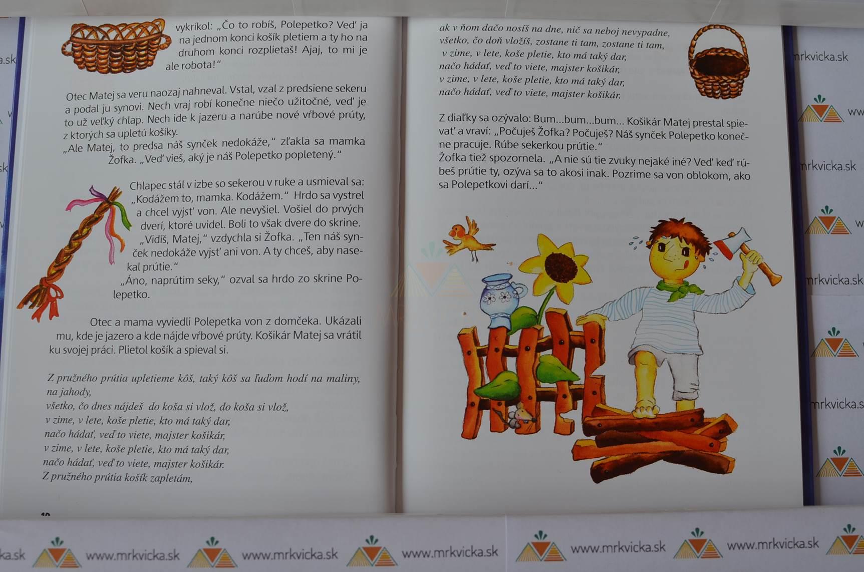 Polepetko - popletená rozprávka (kniha + CD)
