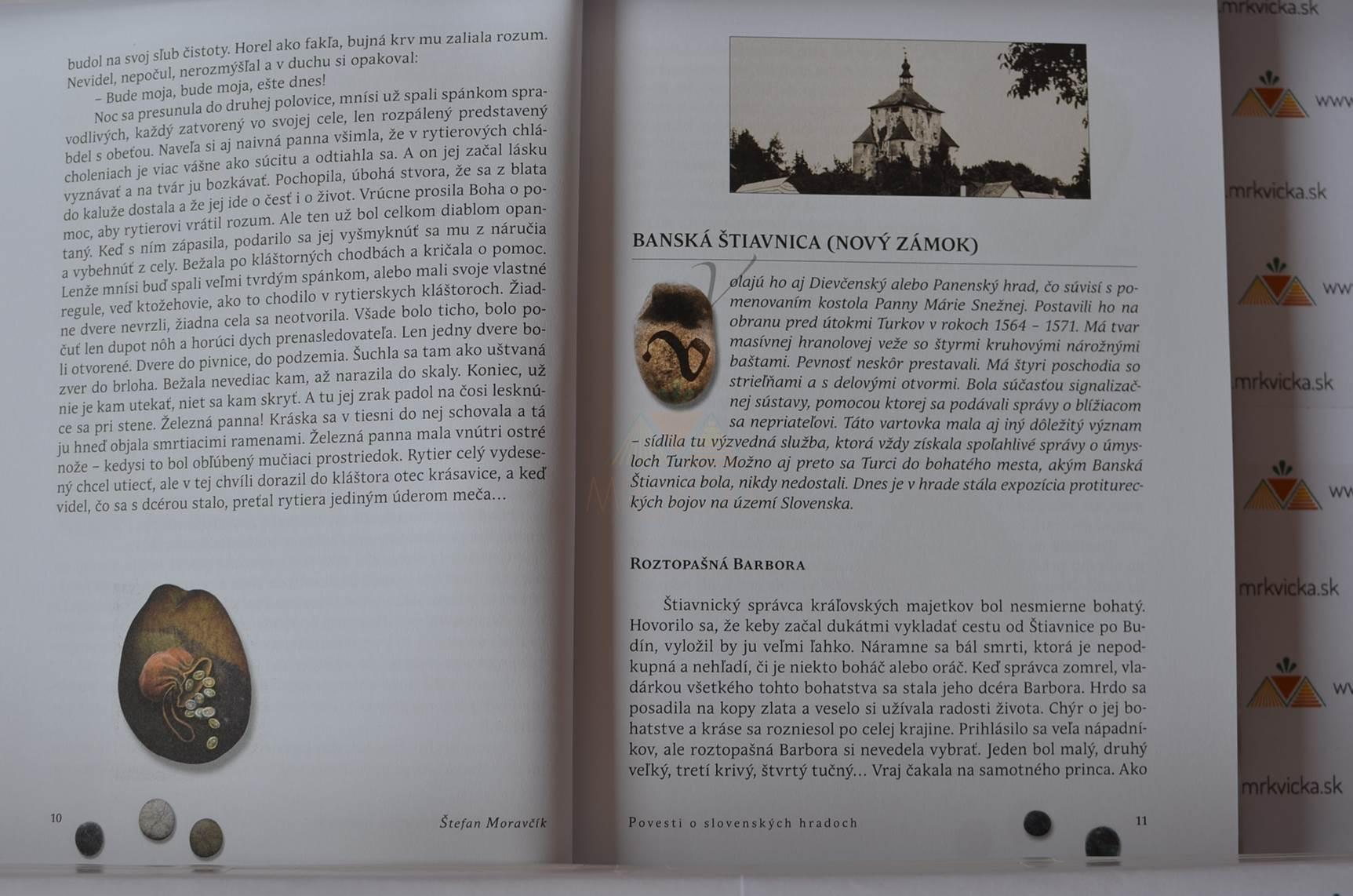 Povesti o slovenských hradoch