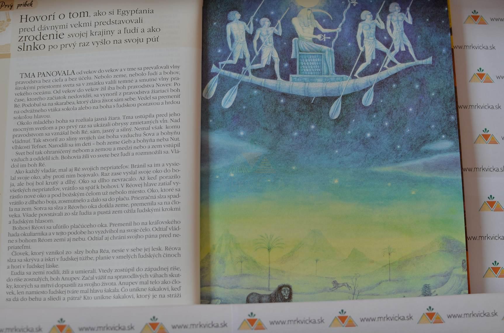 Príbehy, na ktoré svietilo slnko - Báje a povesti starého Egypta, Mezopotámie a Izraela