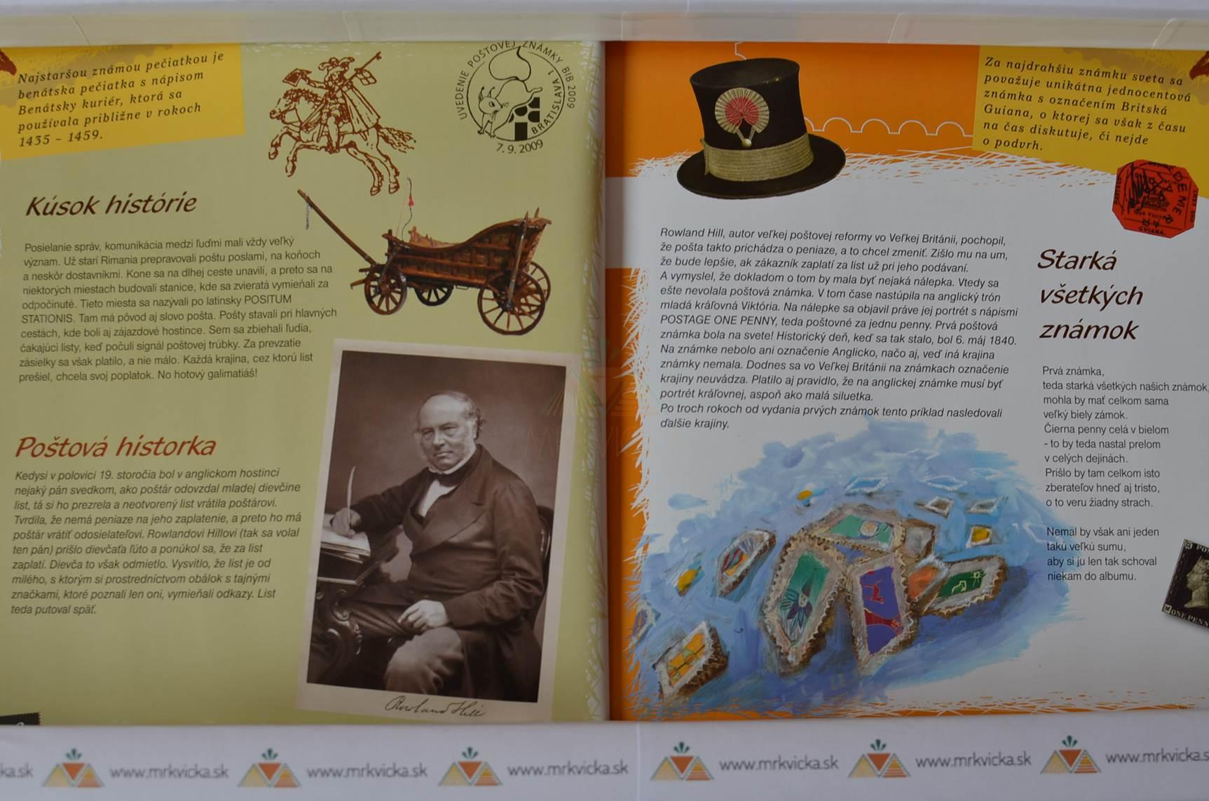 Ako začať zbierať známky - Príručka mladého filatelistu