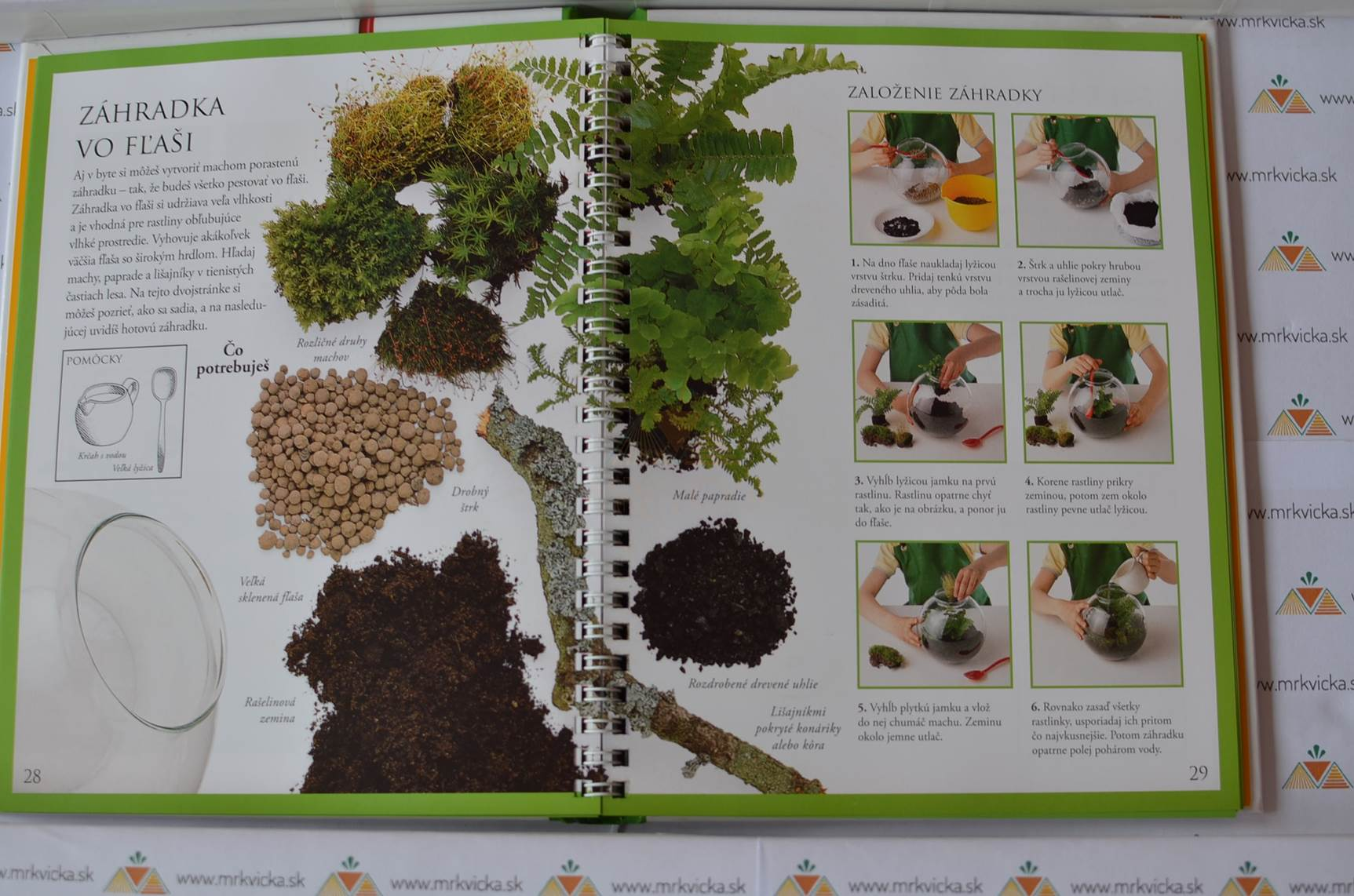 Prvá kniha hier s prírodou - Záhradka vo fľaši a ďalšie úžasné nápady
