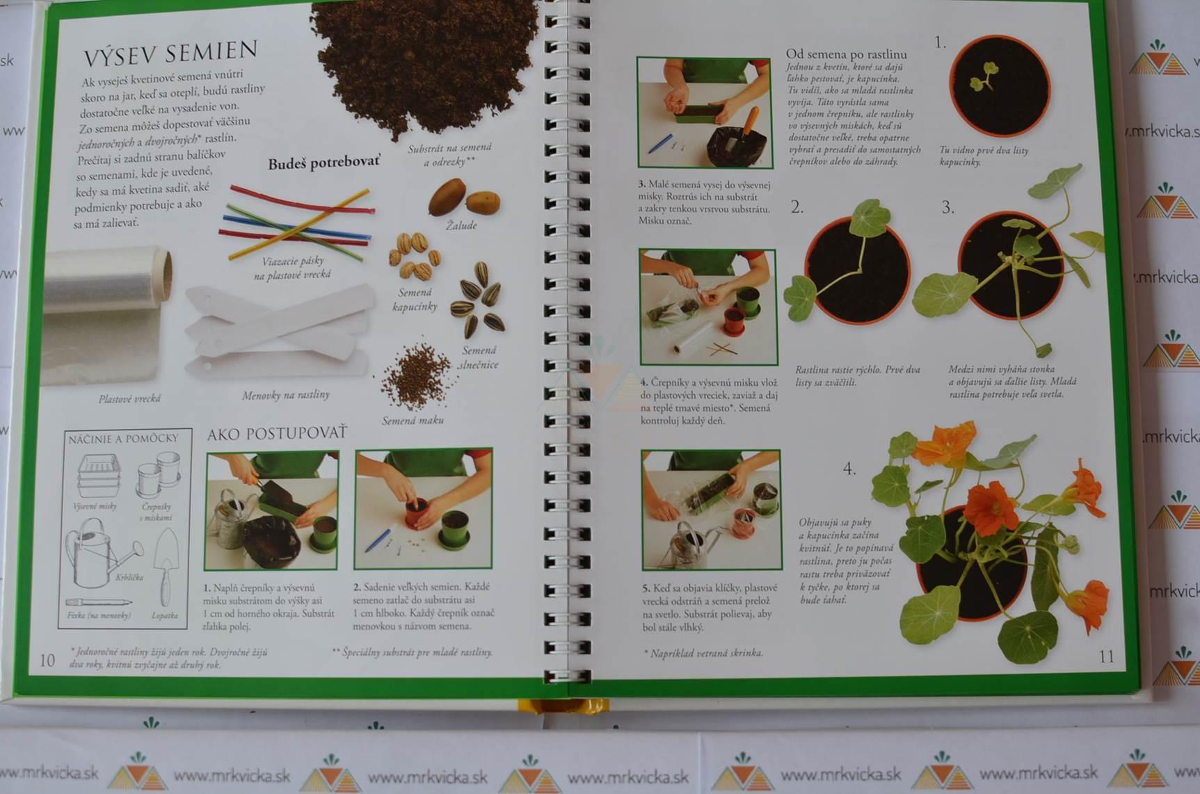 Prvá kniha o záhradke - Bylinková záhradka a ďalšie úžasné nápady