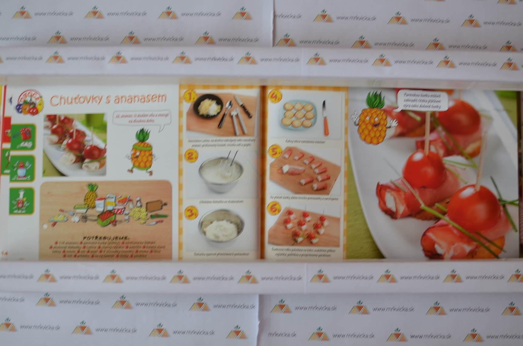 Recepty pre deti: Dětské laskominy z ovoce a zeleniny - Zdravé recepty nejen pro malé kuchaře a kuchařky