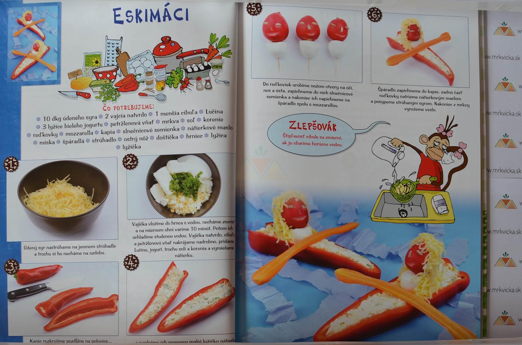 Recepty pre deti: Receptíky pre malých kuchárov - Hravá kuchárka pre malých cestovateľov
