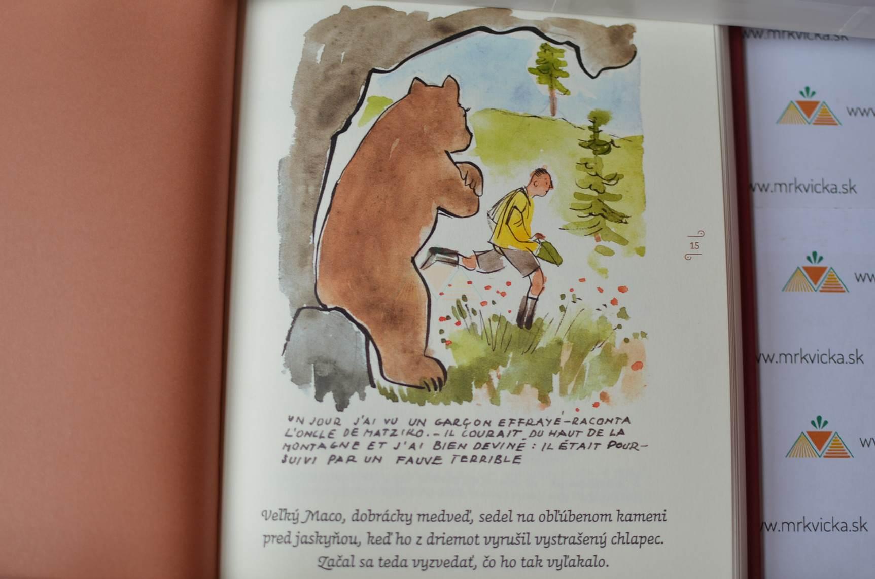Rozprávky pre Elise 3 - O odvážnom medveďovi
