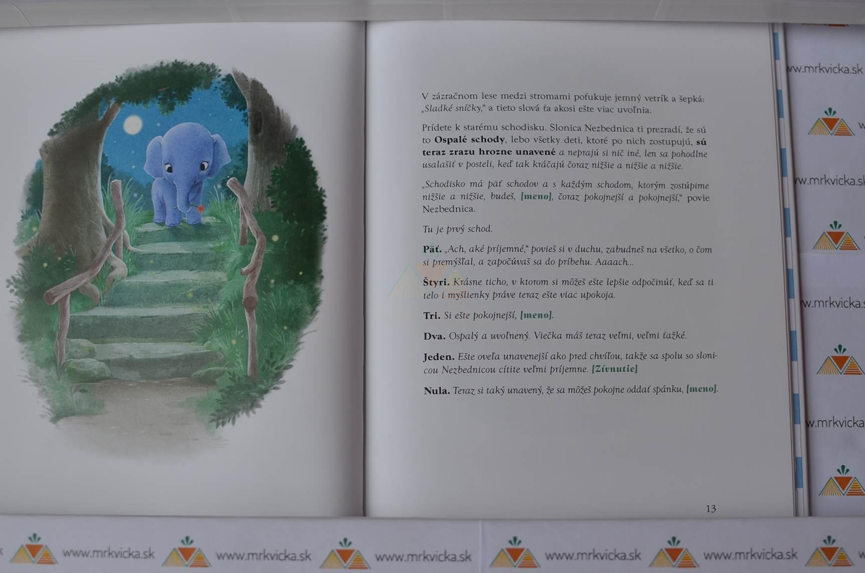 Sloníča, ktoré chce zaspať