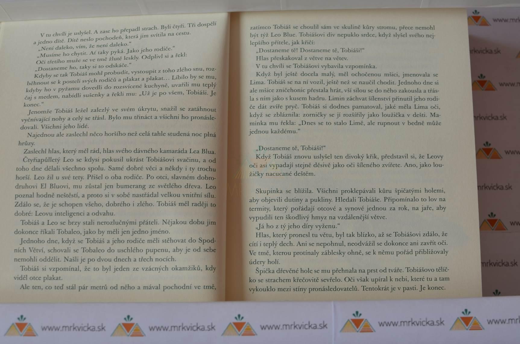 Tobiáš Lolness – I. Život ve větvích + II. Elíšiny oči