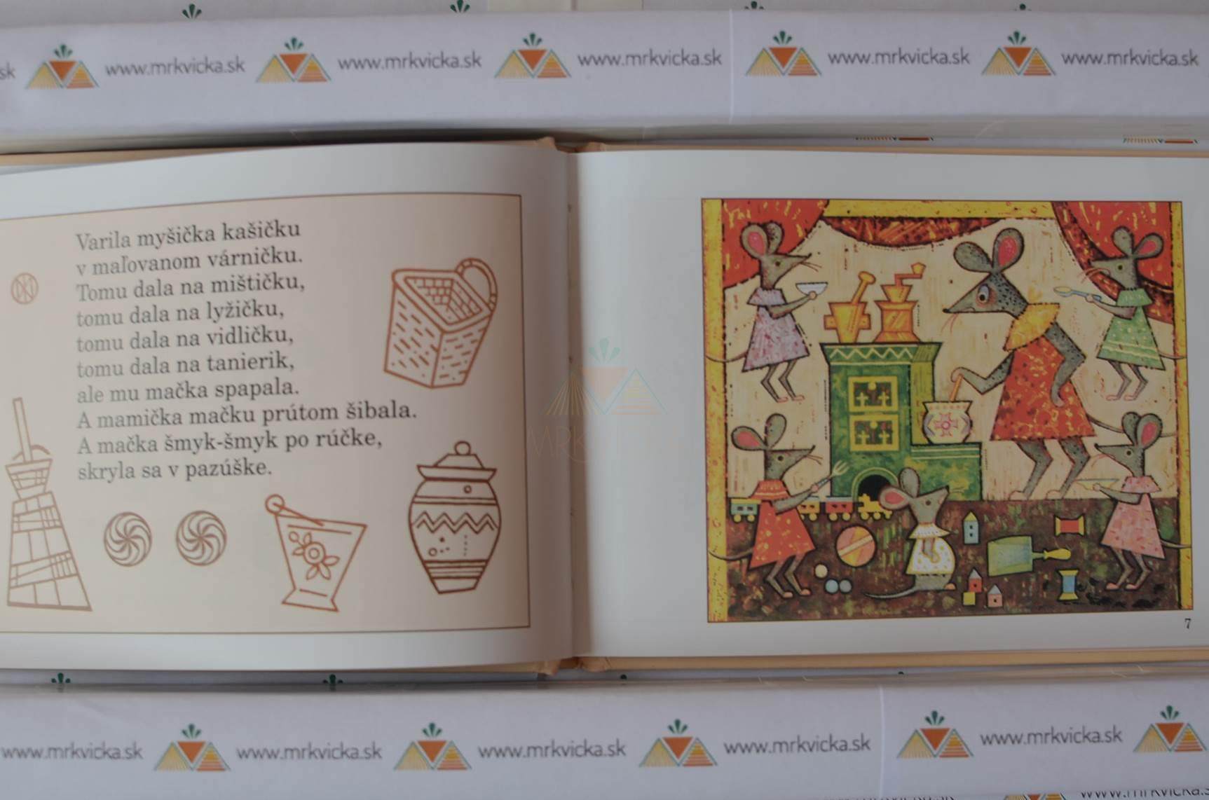 Varila myšička kašičku - ilustroval Ľudovit Fulla