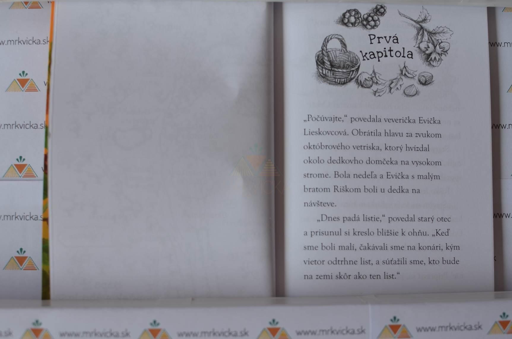 Zvončekový les: Tajná skrýša veveričky Evičky