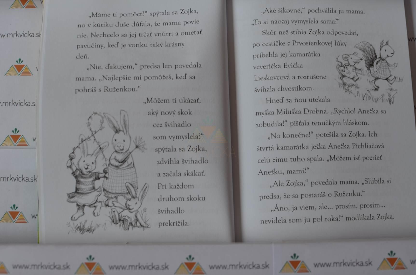 Zvončekový les: Úžasné narodeniny zajky Zojky