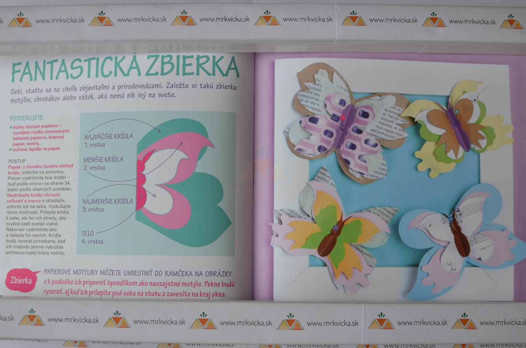 847423ddc Mrkvicka.sk, tvorivé knihy pre deti, Bav sa, tvor, Zvieratká z papiera