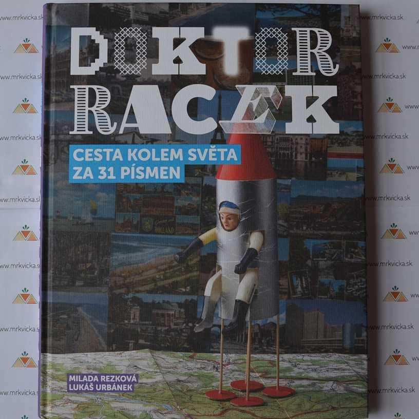 281200f0e Mrkvicka.sk, obrázkové knihy pre deti, Doktor Racek, Cesta kolem světa
