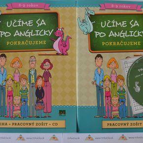 Angličtina pre deti - Učíme sa po anglicky – pokračujeme + zošit + CD
