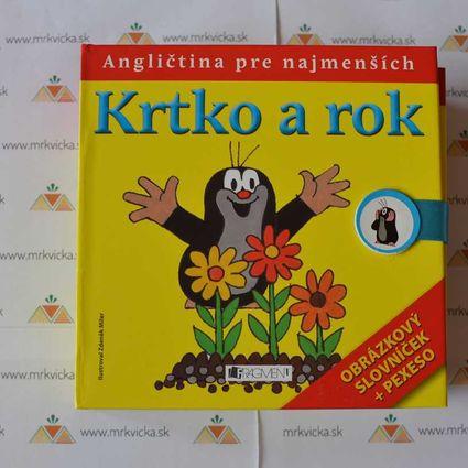 Angličtina pre deti - Krtko a rok + pexeso + slovníček