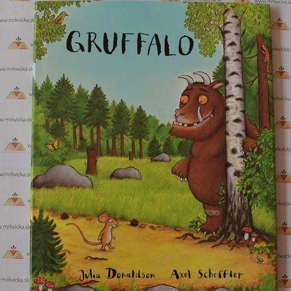 Gruffalo, menší formát, všetky strany pevné