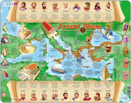 Dejepis – Staroveké Antické Grécko a jeho história – Náučné obrázkové puzzle
