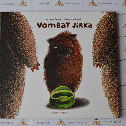 Vombat Jirka – knížka na nočník