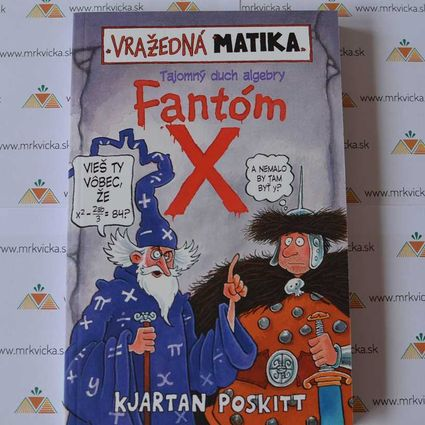 Vražedná matika: Fantóm X (Tajomný duch algebry)
