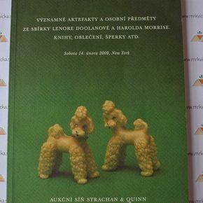 Významné artefakty a osobní předměty ze zbírky L. Doolanové a H. Morrise